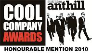 Anthill Cool Company Awards 2013